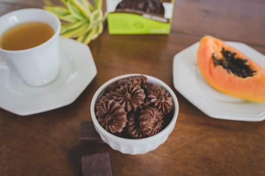 Biscoito sem glúten, sem leite - Integral - CHOCOLATE - 60g