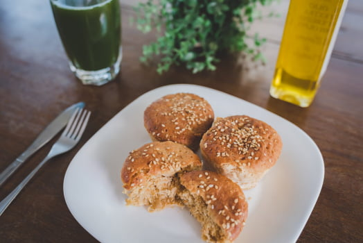 Pãozinho de batatas com frango -  sem glúten, sem leite - 250g
