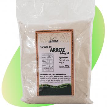 Farinha de Arroz  Integral - 500g