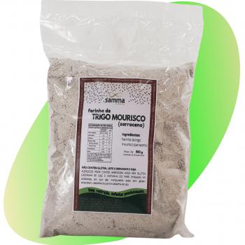 Farinha de Trigo Mourisco (Sarraceno) - 500g